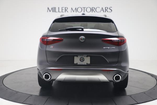 New 2020 Alfa Romeo Stelvio Ti Sport Q4 for sale $56,145 at Rolls-Royce Motor Cars Greenwich in Greenwich CT 06830 6