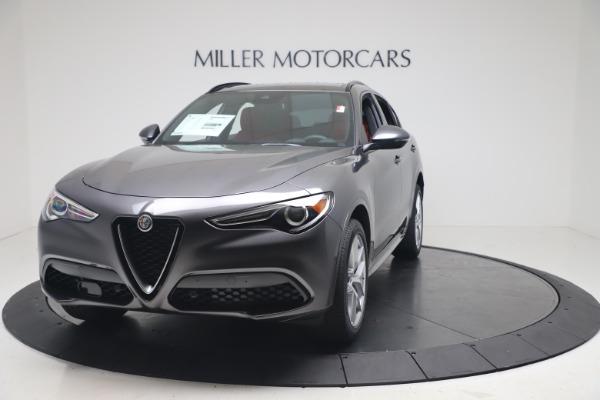 New 2020 Alfa Romeo Stelvio Ti Sport Q4 for sale Sold at Rolls-Royce Motor Cars Greenwich in Greenwich CT 06830 1