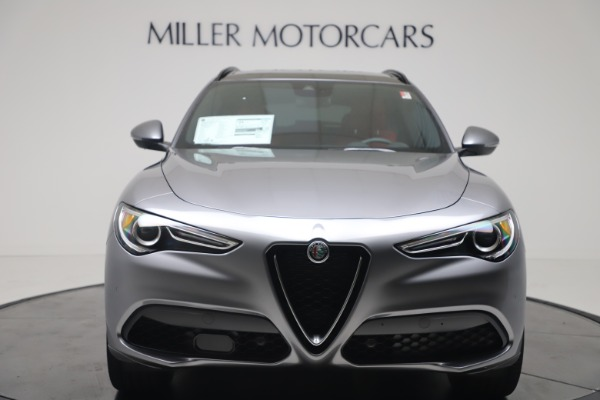 New 2020 Alfa Romeo Stelvio Ti Sport Q4 for sale $53,545 at Rolls-Royce Motor Cars Greenwich in Greenwich CT 06830 12