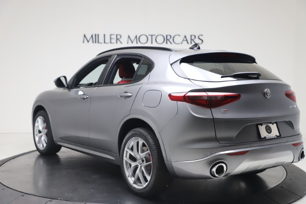 New 2020 Alfa Romeo Stelvio Ti Sport Q4 for sale $53,545 at Rolls-Royce Motor Cars Greenwich in Greenwich CT 06830 5