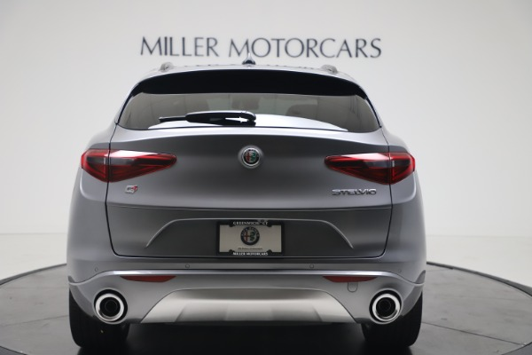 New 2020 Alfa Romeo Stelvio Ti Sport Q4 for sale $53,545 at Rolls-Royce Motor Cars Greenwich in Greenwich CT 06830 6