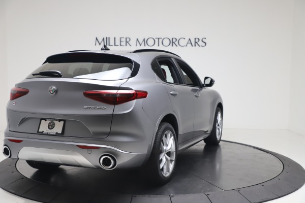 New 2020 Alfa Romeo Stelvio Ti Sport Q4 for sale $53,545 at Rolls-Royce Motor Cars Greenwich in Greenwich CT 06830 7