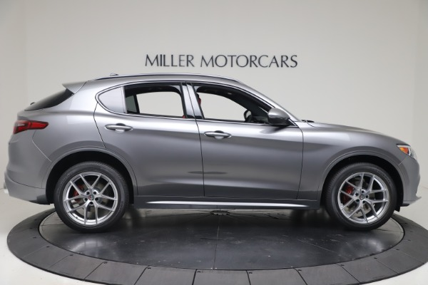 New 2020 Alfa Romeo Stelvio Ti Sport Q4 for sale $53,545 at Rolls-Royce Motor Cars Greenwich in Greenwich CT 06830 9