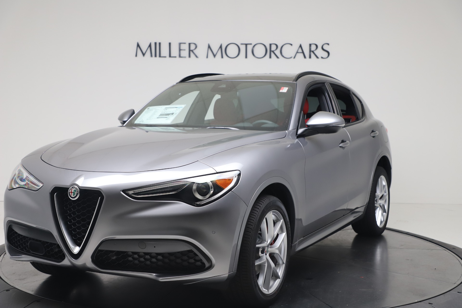 New 2020 Alfa Romeo Stelvio Ti Sport Q4 for sale $53,545 at Rolls-Royce Motor Cars Greenwich in Greenwich CT 06830 1