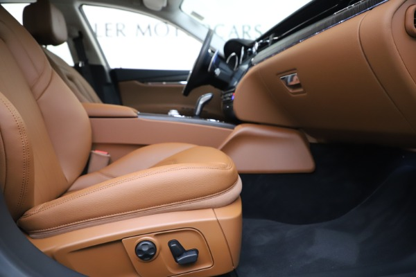 New 2020 Maserati Quattroporte S Q4 for sale Sold at Rolls-Royce Motor Cars Greenwich in Greenwich CT 06830 15