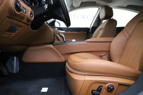 New 2020 Maserati Quattroporte S Q4 for sale Sold at Rolls-Royce Motor Cars Greenwich in Greenwich CT 06830 6