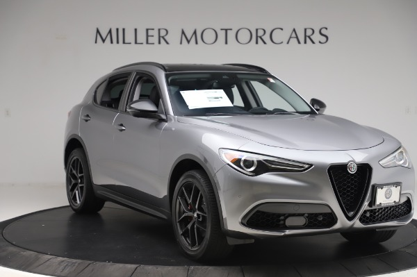 New 2020 Alfa Romeo Stelvio for sale $50,145 at Rolls-Royce Motor Cars Greenwich in Greenwich CT 06830 11