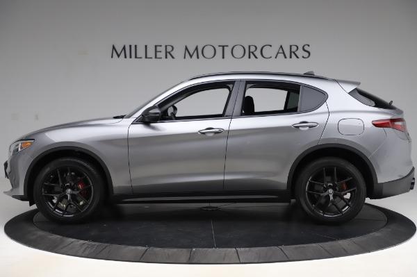 New 2020 Alfa Romeo Stelvio for sale $50,145 at Rolls-Royce Motor Cars Greenwich in Greenwich CT 06830 3