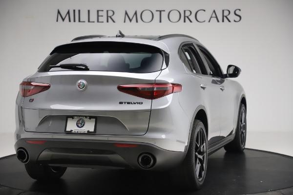 New 2020 Alfa Romeo Stelvio for sale $50,145 at Rolls-Royce Motor Cars Greenwich in Greenwich CT 06830 7