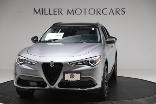 New 2020 Alfa Romeo Stelvio for sale $50,145 at Rolls-Royce Motor Cars Greenwich in Greenwich CT 06830 1