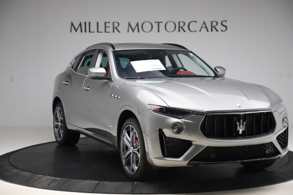 New 2020 Maserati Levante S Q4 GranSport for sale $104,635 at Rolls-Royce Motor Cars Greenwich in Greenwich CT 06830 11