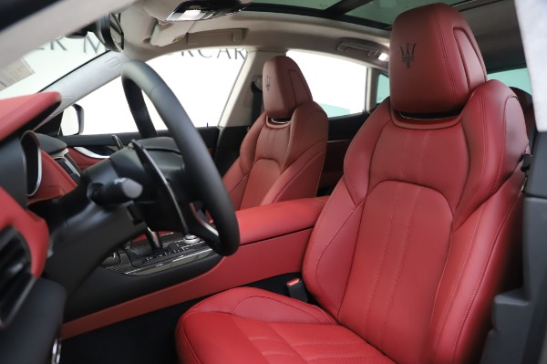 New 2020 Maserati Levante S Q4 GranSport for sale $104,635 at Rolls-Royce Motor Cars Greenwich in Greenwich CT 06830 15
