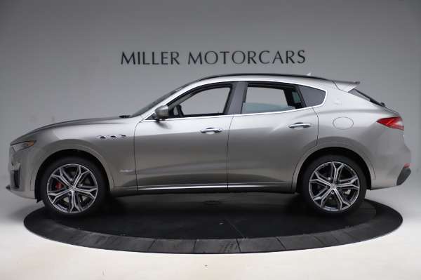 New 2020 Maserati Levante S Q4 GranSport for sale $104,635 at Rolls-Royce Motor Cars Greenwich in Greenwich CT 06830 3