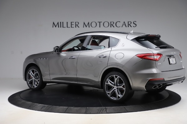 New 2020 Maserati Levante S Q4 GranSport for sale $104,635 at Rolls-Royce Motor Cars Greenwich in Greenwich CT 06830 4