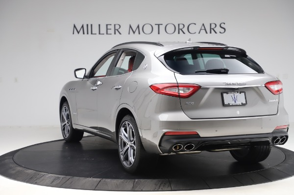 New 2020 Maserati Levante S Q4 GranSport for sale $104,635 at Rolls-Royce Motor Cars Greenwich in Greenwich CT 06830 5