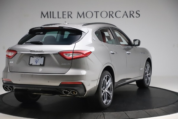 New 2020 Maserati Levante S Q4 GranSport for sale $104,635 at Rolls-Royce Motor Cars Greenwich in Greenwich CT 06830 7