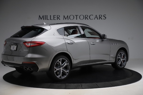 New 2020 Maserati Levante S Q4 GranSport for sale $104,635 at Rolls-Royce Motor Cars Greenwich in Greenwich CT 06830 8