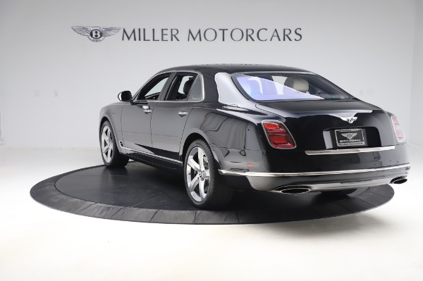 Used 2018 Bentley Mulsanne Speed for sale Sold at Rolls-Royce Motor Cars Greenwich in Greenwich CT 06830 5