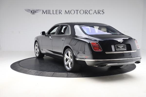 Used 2018 Bentley Mulsanne Speed for sale $239,900 at Rolls-Royce Motor Cars Greenwich in Greenwich CT 06830 5