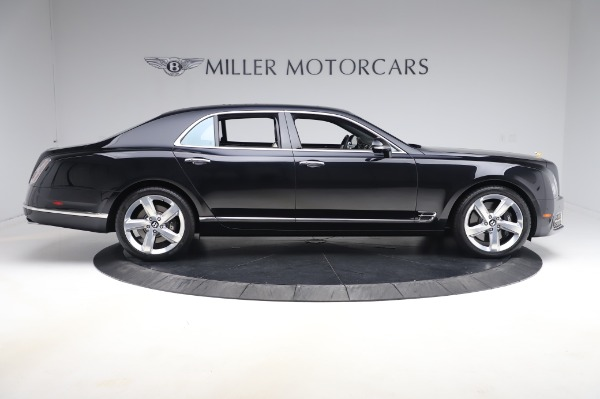 Used 2018 Bentley Mulsanne Speed for sale $239,900 at Rolls-Royce Motor Cars Greenwich in Greenwich CT 06830 9