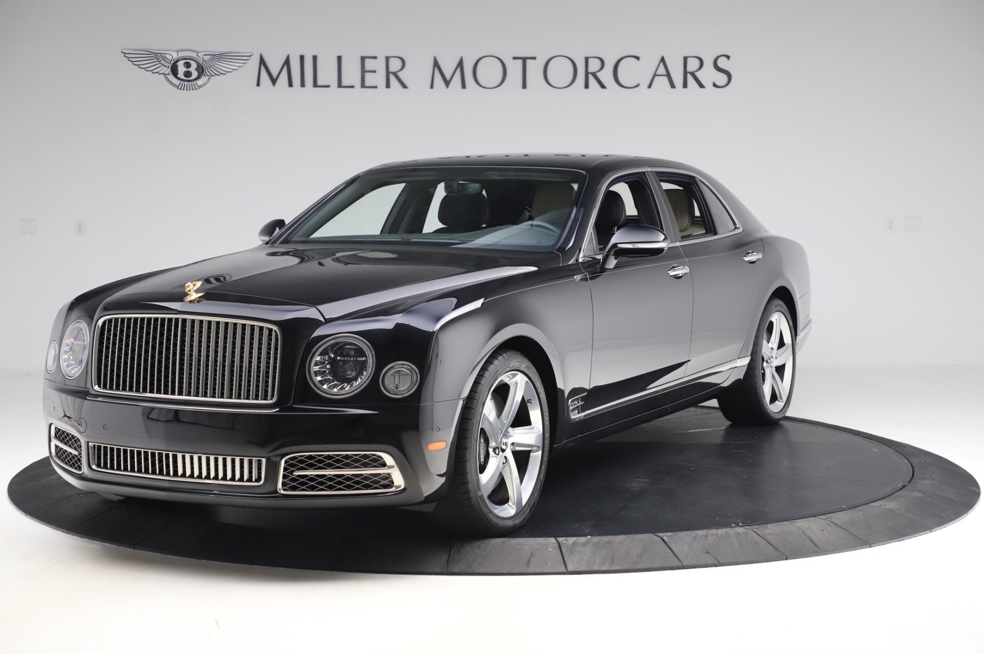 Used 2018 Bentley Mulsanne Speed for sale $239,900 at Rolls-Royce Motor Cars Greenwich in Greenwich CT 06830 1