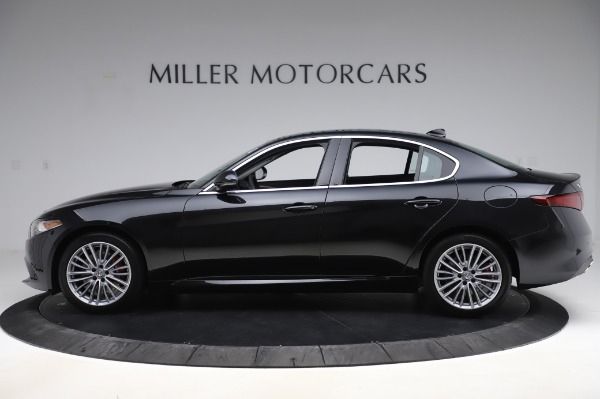 New 2020 Alfa Romeo Giulia Ti Lusso Q4 for sale $46,195 at Rolls-Royce Motor Cars Greenwich in Greenwich CT 06830 3