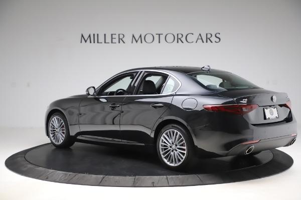 New 2020 Alfa Romeo Giulia Ti Lusso Q4 for sale $51,195 at Rolls-Royce Motor Cars Greenwich in Greenwich CT 06830 4