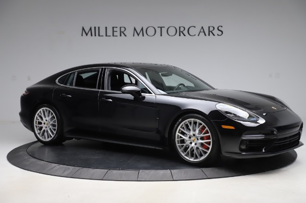 Used 2017 Porsche Panamera Turbo for sale $95,900 at Rolls-Royce Motor Cars Greenwich in Greenwich CT 06830 10