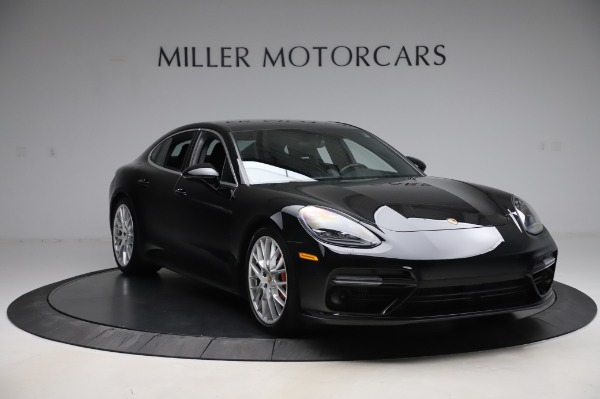 Used 2017 Porsche Panamera Turbo for sale $95,900 at Rolls-Royce Motor Cars Greenwich in Greenwich CT 06830 11