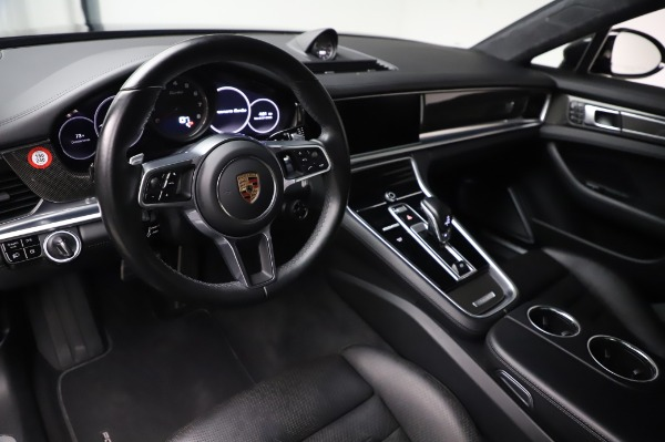 Used 2017 Porsche Panamera Turbo for sale $95,900 at Rolls-Royce Motor Cars Greenwich in Greenwich CT 06830 13