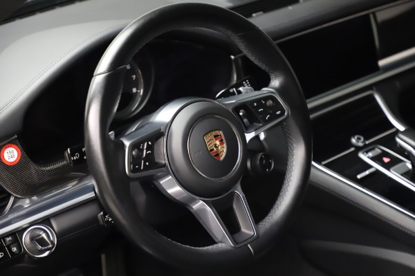 Used 2017 Porsche Panamera Turbo for sale $95,900 at Rolls-Royce Motor Cars Greenwich in Greenwich CT 06830 16