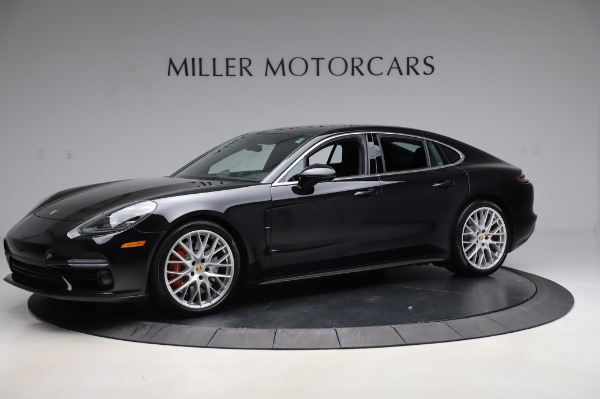 Used 2017 Porsche Panamera Turbo for sale $95,900 at Rolls-Royce Motor Cars Greenwich in Greenwich CT 06830 2