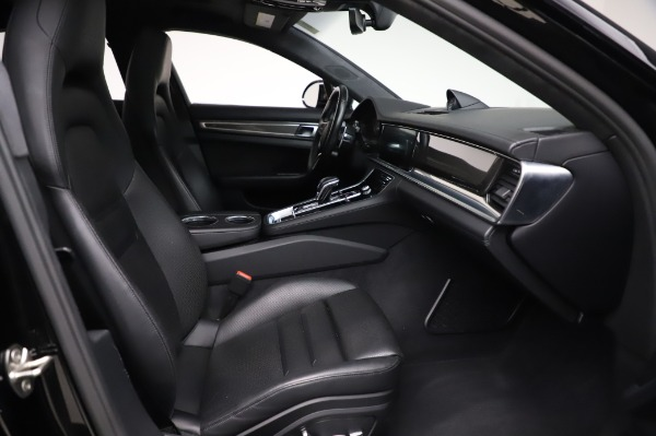 Used 2017 Porsche Panamera Turbo for sale $95,900 at Rolls-Royce Motor Cars Greenwich in Greenwich CT 06830 20