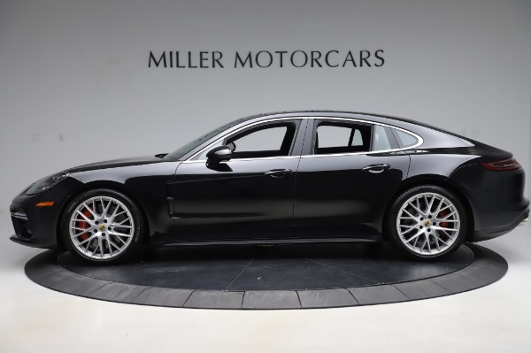 Used 2017 Porsche Panamera Turbo for sale $95,900 at Rolls-Royce Motor Cars Greenwich in Greenwich CT 06830 3