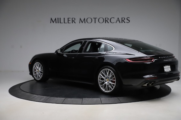 Used 2017 Porsche Panamera Turbo for sale $95,900 at Rolls-Royce Motor Cars Greenwich in Greenwich CT 06830 4