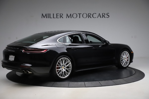 Used 2017 Porsche Panamera Turbo for sale $95,900 at Rolls-Royce Motor Cars Greenwich in Greenwich CT 06830 8