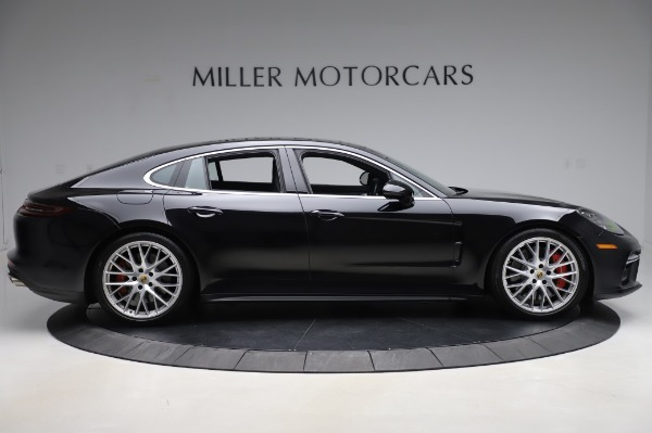 Used 2017 Porsche Panamera Turbo for sale $95,900 at Rolls-Royce Motor Cars Greenwich in Greenwich CT 06830 9
