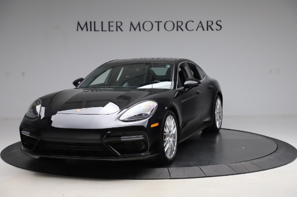 Used 2017 Porsche Panamera Turbo for sale $95,900 at Rolls-Royce Motor Cars Greenwich in Greenwich CT 06830 1