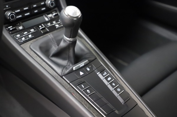 Used 2018 Porsche 911 Carrera GTS for sale Call for price at Rolls-Royce Motor Cars Greenwich in Greenwich CT 06830 13
