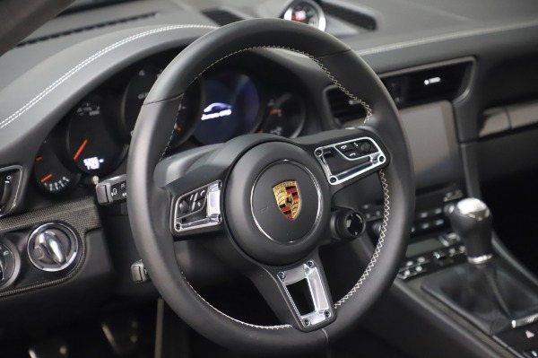 Used 2018 Porsche 911 Carrera GTS for sale Call for price at Rolls-Royce Motor Cars Greenwich in Greenwich CT 06830 17