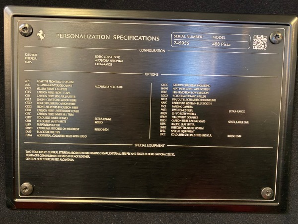 Used 2019 Ferrari 488 Pista for sale $447,900 at Rolls-Royce Motor Cars Greenwich in Greenwich CT 06830 28
