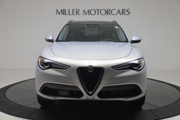 New 2020 Alfa Romeo Stelvio Q4 for sale $49,795 at Rolls-Royce Motor Cars Greenwich in Greenwich CT 06830 12