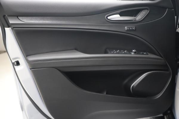 New 2020 Alfa Romeo Stelvio Q4 for sale $49,795 at Rolls-Royce Motor Cars Greenwich in Greenwich CT 06830 18