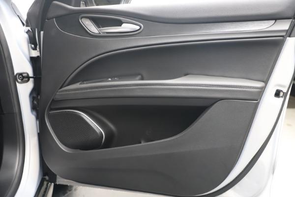 New 2020 Alfa Romeo Stelvio Q4 for sale $49,795 at Rolls-Royce Motor Cars Greenwich in Greenwich CT 06830 25