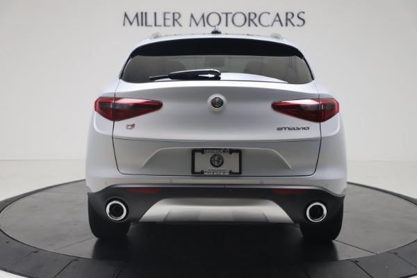New 2020 Alfa Romeo Stelvio Q4 for sale $49,795 at Rolls-Royce Motor Cars Greenwich in Greenwich CT 06830 6