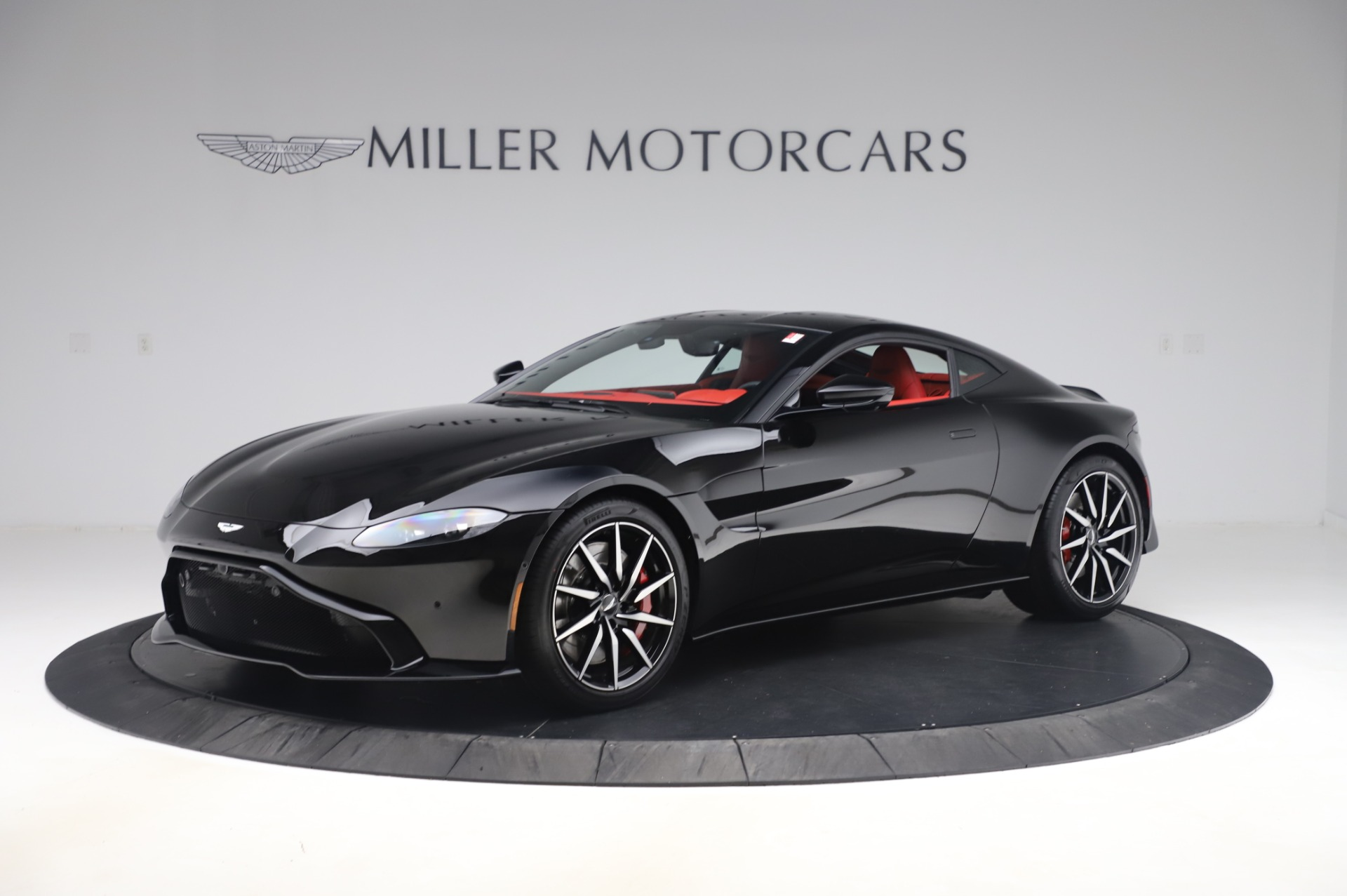 New 2020 Aston Martin Vantage Coupe for sale $185,181 at Rolls-Royce Motor Cars Greenwich in Greenwich CT 06830 1