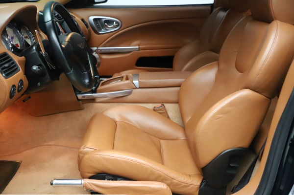 Used 2003 Aston Martin V12 Vanquish Coupe for sale $79,900 at Rolls-Royce Motor Cars Greenwich in Greenwich CT 06830 14
