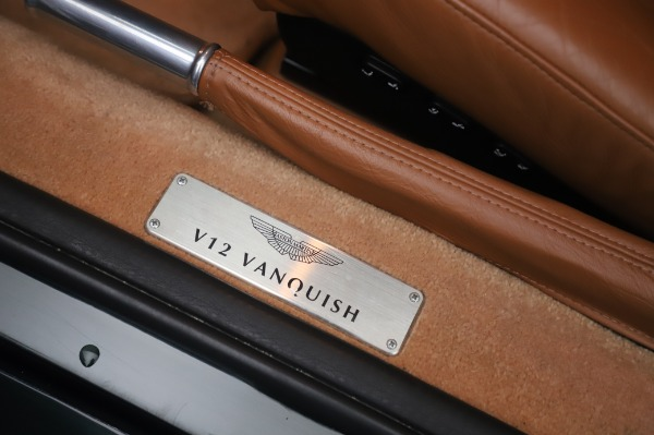 Used 2003 Aston Martin V12 Vanquish Coupe for sale $79,900 at Rolls-Royce Motor Cars Greenwich in Greenwich CT 06830 16