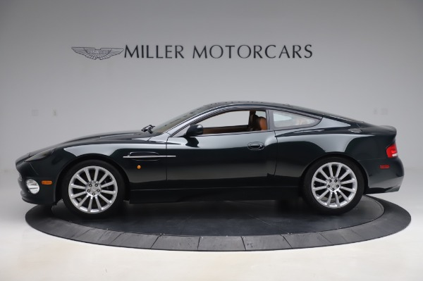 Used 2003 Aston Martin V12 Vanquish Coupe for sale $79,900 at Rolls-Royce Motor Cars Greenwich in Greenwich CT 06830 2