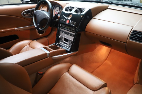 Used 2003 Aston Martin V12 Vanquish Coupe for sale $79,900 at Rolls-Royce Motor Cars Greenwich in Greenwich CT 06830 20